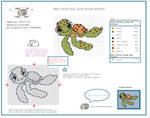 Nemo Turtle Pattern