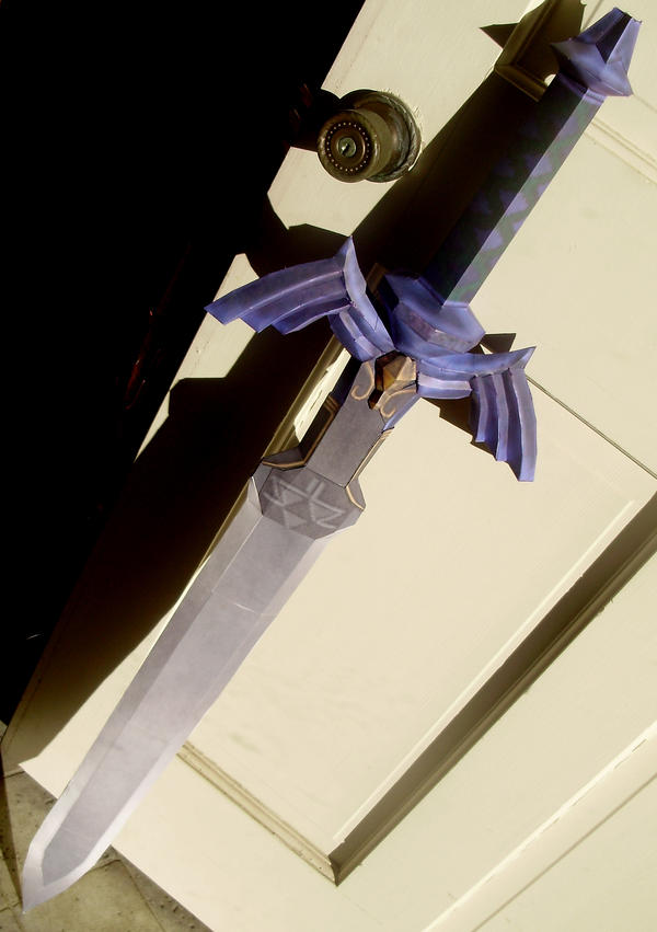 Master Sword Papercraft by Skeleman