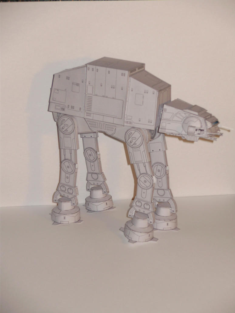 AT-AT Papercraft by Skeleman