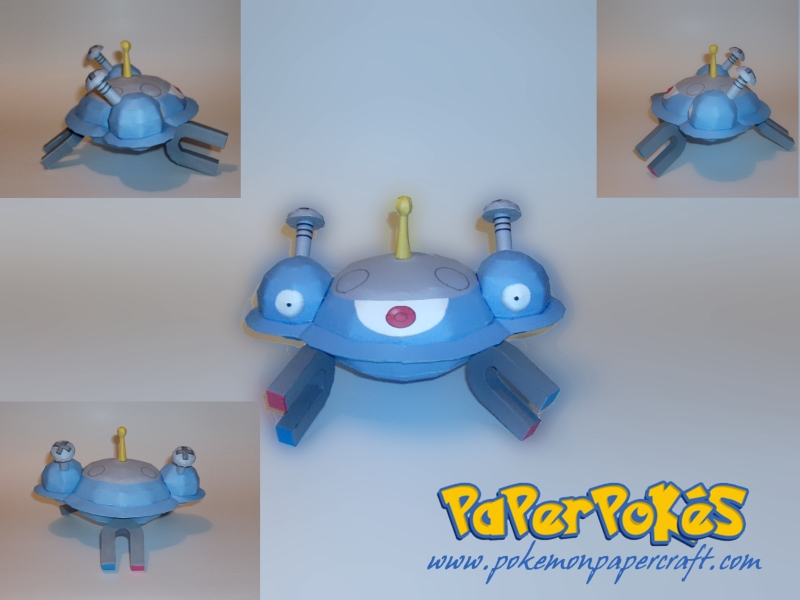 Magnezone Papercraft by Skeleman