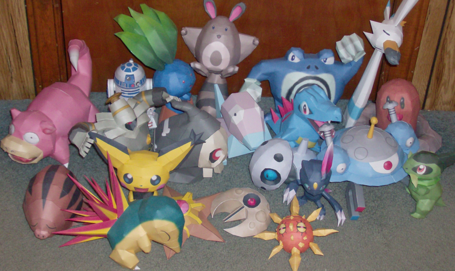 Papercraft Pokemon Collection by Skeleman