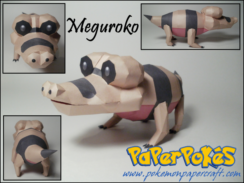 Sandile Papercraft by Skeleman