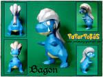 Bagon Papercraft