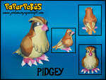 Pidgey Papercraft