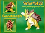Sandslash Papercraft