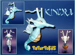 Kingdra Papercraft