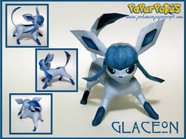 Glaceon Papercraft by Skeleman