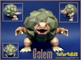 Golem Papercraft by Skeleman