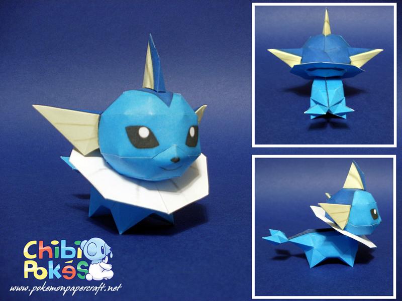 Pokemon Pikachu Origami 3d Adorable