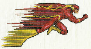 The Flash Cross Stitch