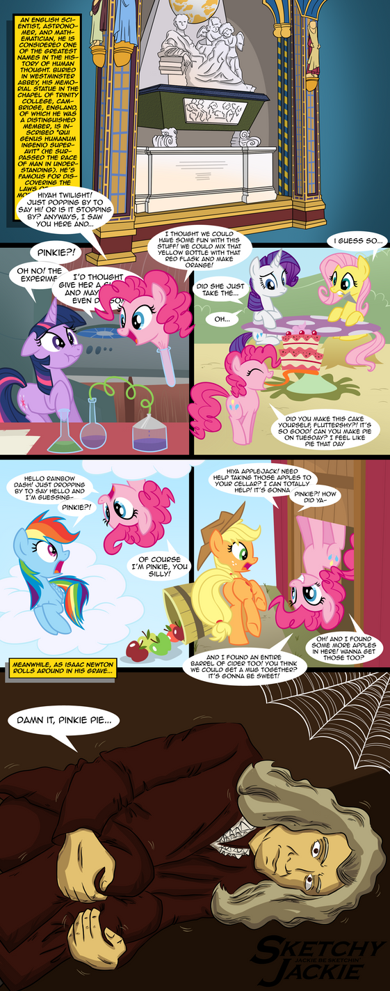Damn It, Pinkie Pie... by SketchyJackie