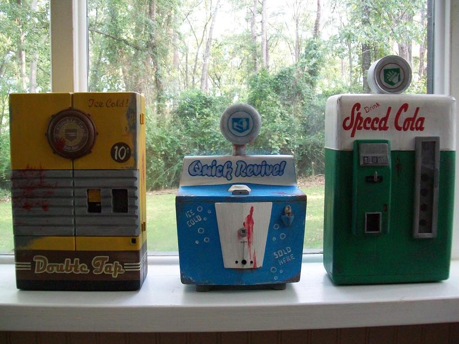 perk a cola machine replica