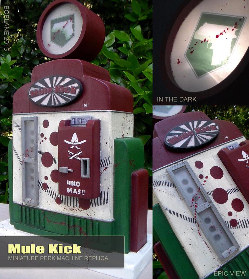 Call of Duty Miniature - Mule Kick Perk Machine by faustdavenport