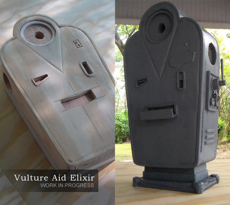 Vulture Aid Elixir Miniature Replica - Progress by faustdavenport