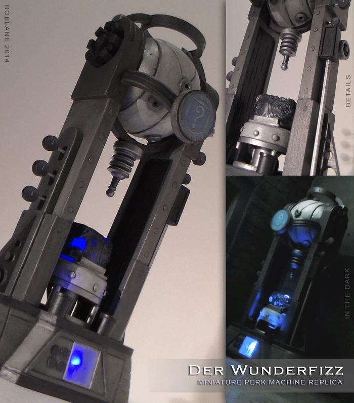 Der Wunderfizz - Miniature COD Zombies Replica by faustdavenport