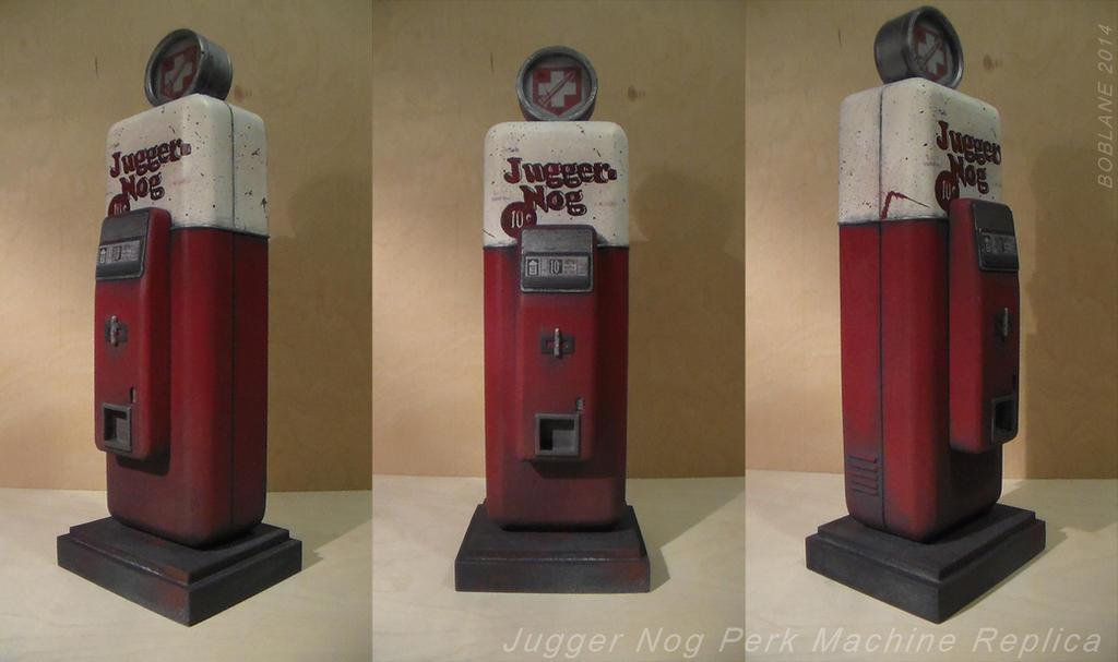 Jugger Nog Machine IRL - Miniature Wooden Replica by faustdavenport