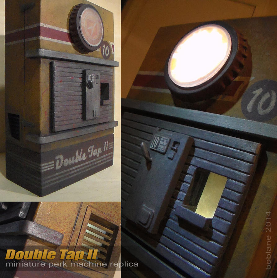Double Tap 2 Perk Machine IRL - COD Zombies by faustdavenport