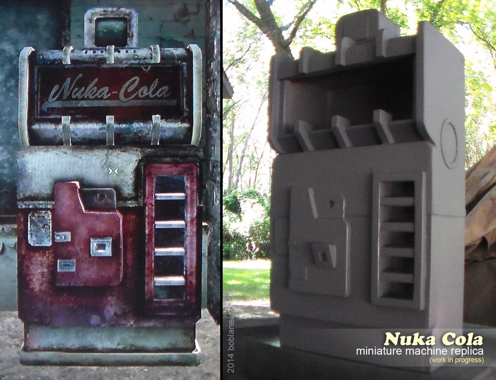 Nuka Cola Machine Replica - Fallout 3, New Vegas by faustdavenport