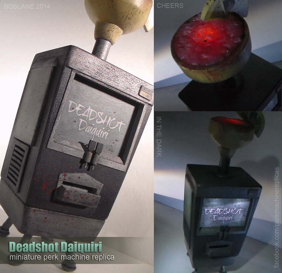 Deadshot Daiquiri - Miniature Replica COD Zombies by faustdavenport