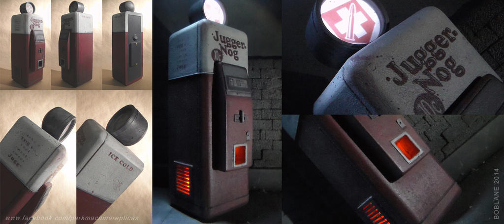 COD Zombies - Jugger Nog Machine - Multiple Views by faustdavenport