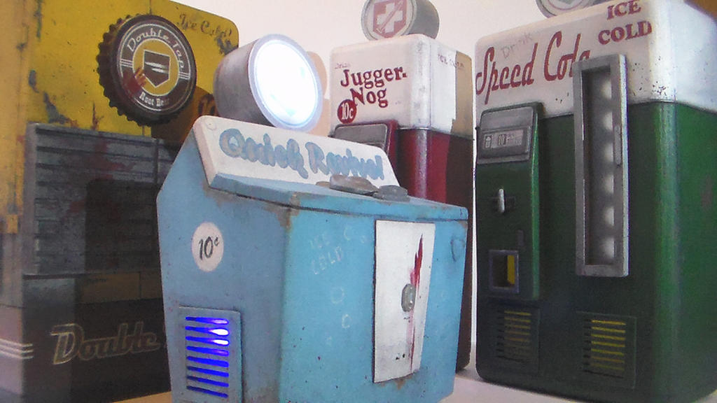 COD Zombies - Orignal Perk Machine Replicas by faustdavenport