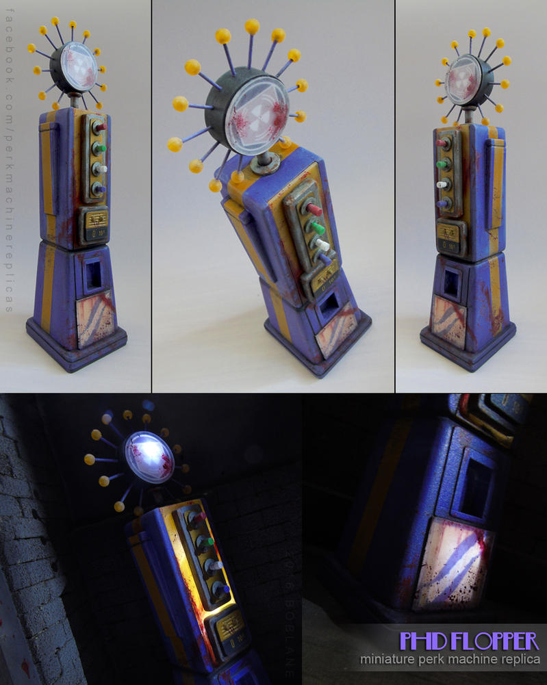 PHD Flopper Replica - Call of Duty: Zombies by faustdavenport
