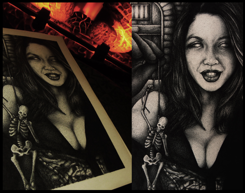 Art Tribute to Ceara Lynch by faustdavenport