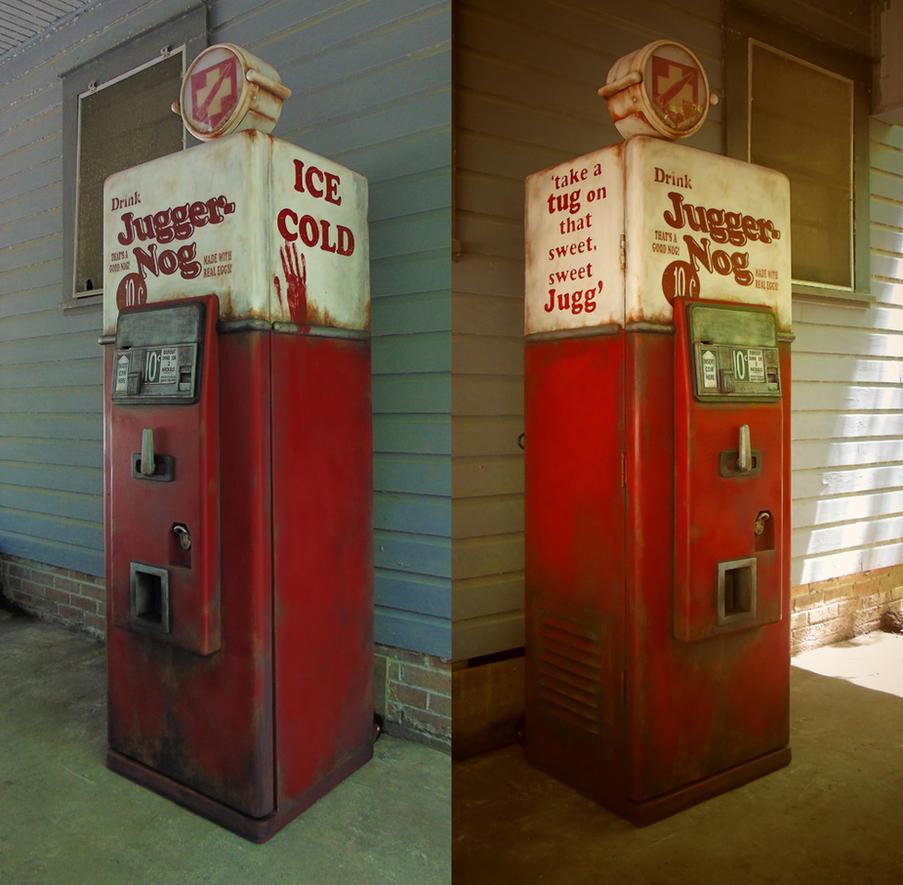 Life-Size Jugger Nog Replica - COD Zombies by faustdavenport