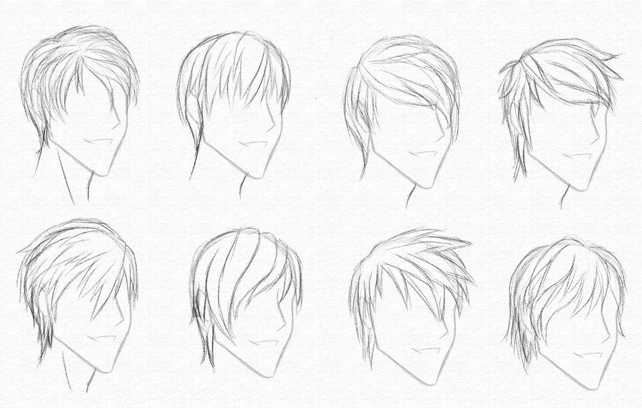 Guy Hair Styles 2-9-10 By CrimsonCypher On DeviantArt
