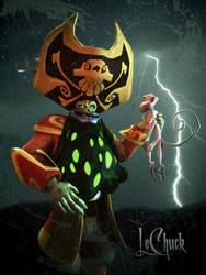 Ghost Pirate LeChuck by Laserschwert