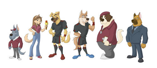 Futdogs by Hugor65
