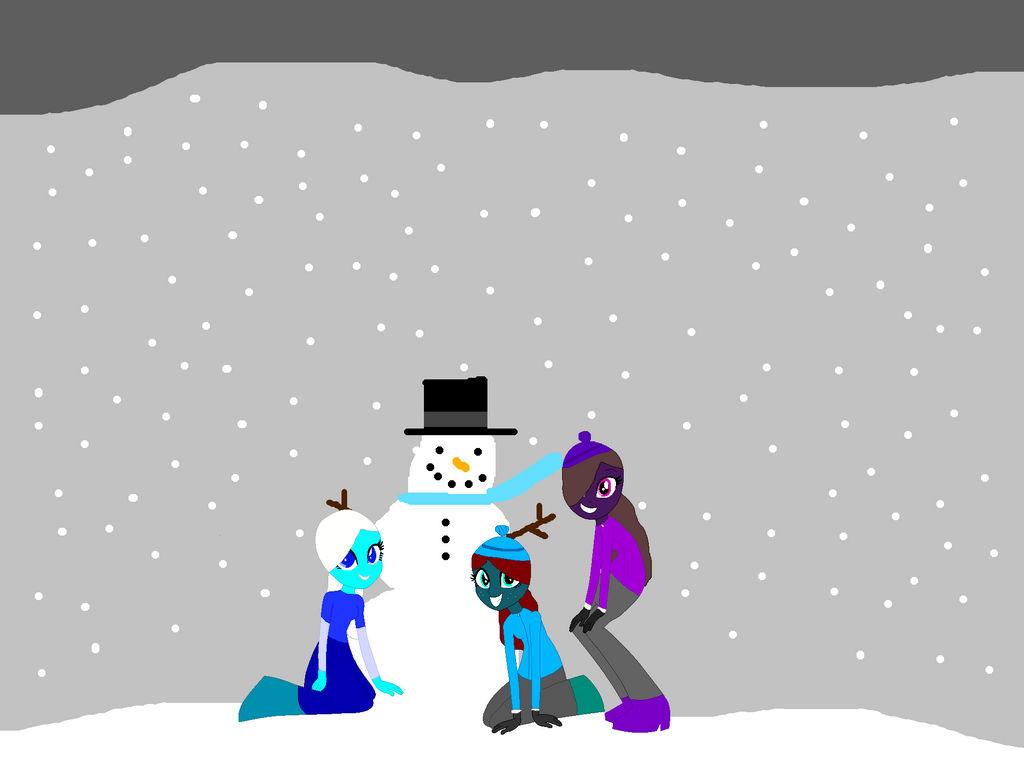 Snow! Snow! Snowman?