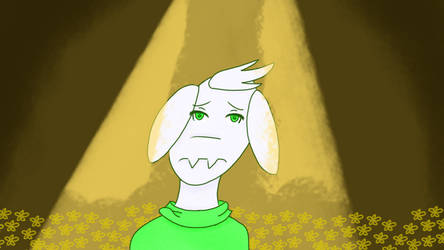 Asriel- Say Goodbye... by fluffysam1212