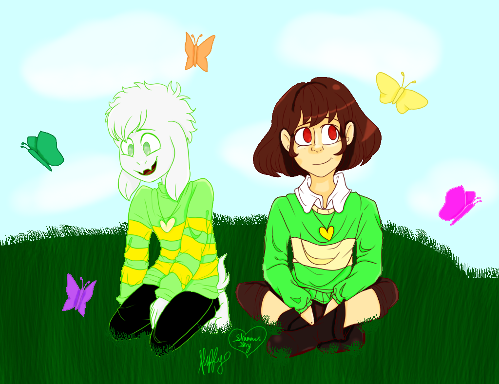 Undertale Collab - Butterfly Gardens