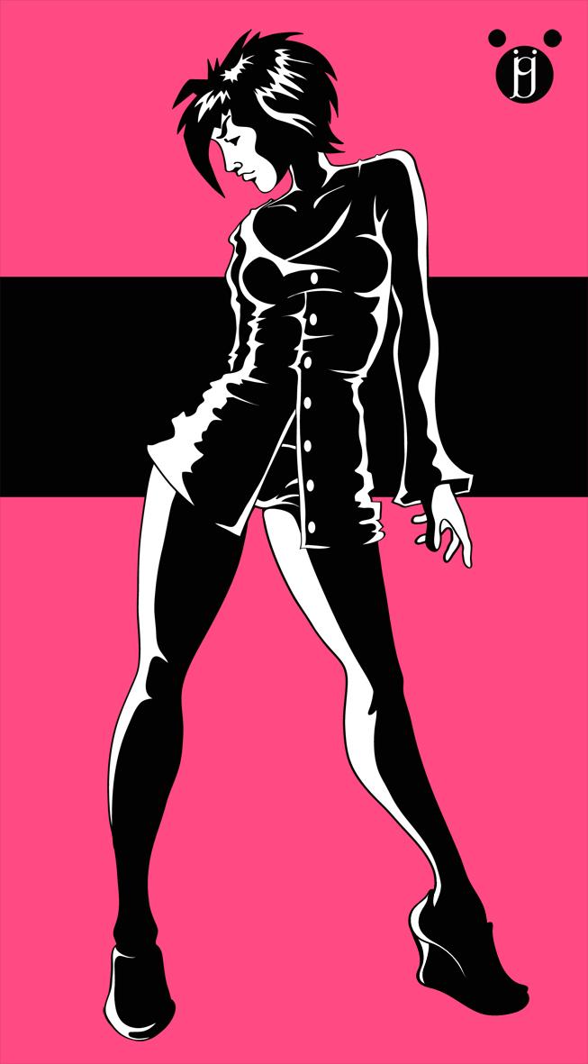 Alicia Noir by beveon