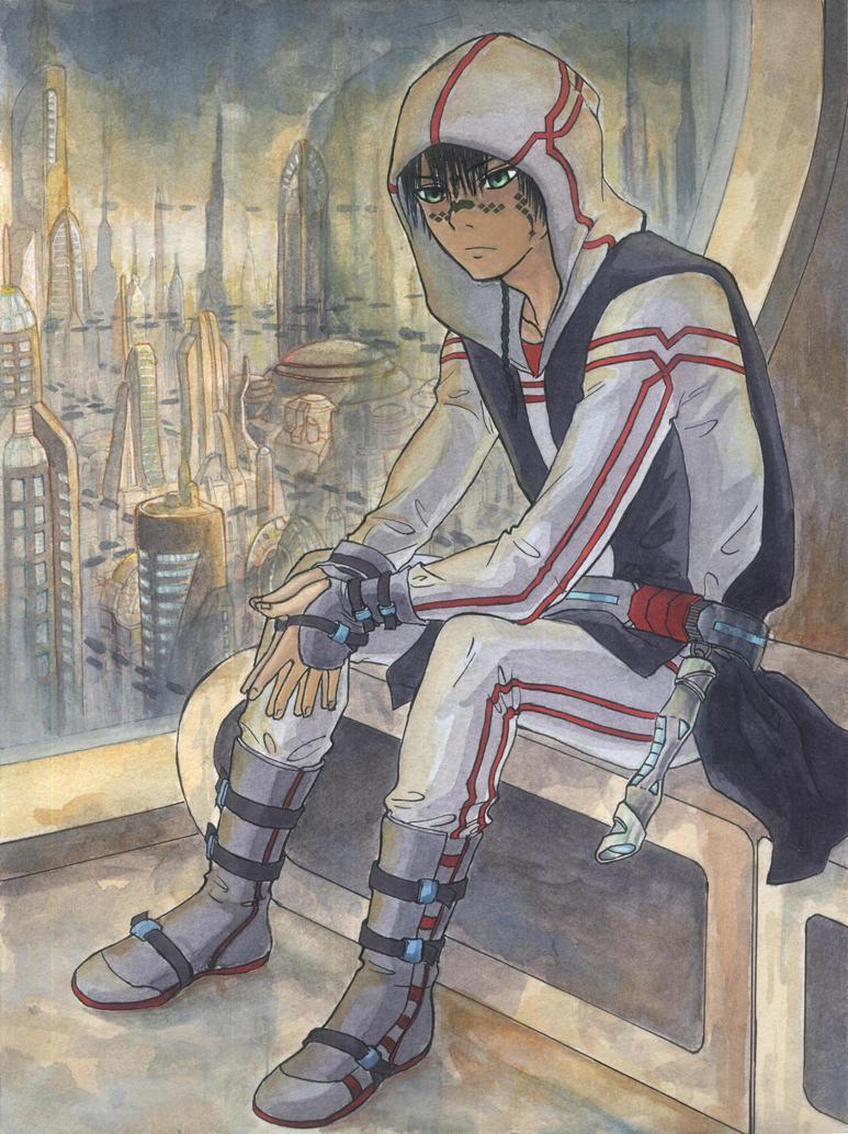 Lunon on Coruscant by coloridium