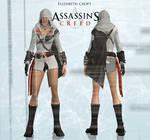 Lara in animus mod: Elizabet croft