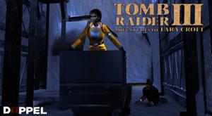 Tomb Raider 3: Antartica RX-tech mines