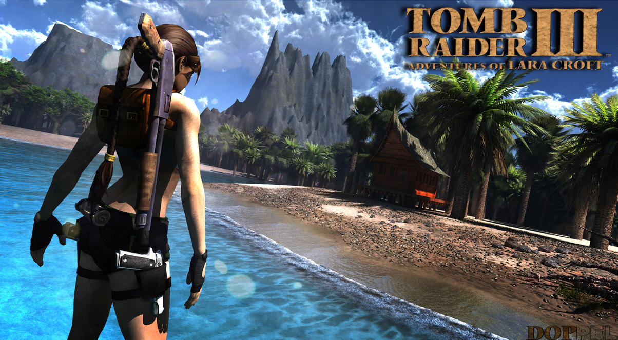 tomb raider iii south pacific island by doppel zgz on deviantart. Black Bedroom Furniture Sets. Home Design Ideas