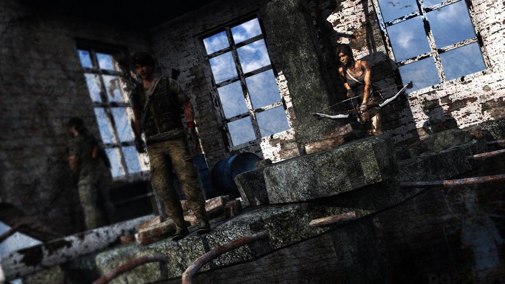 Tomb Raider: Yamatai island wwii military ruins by doppeL-zgz