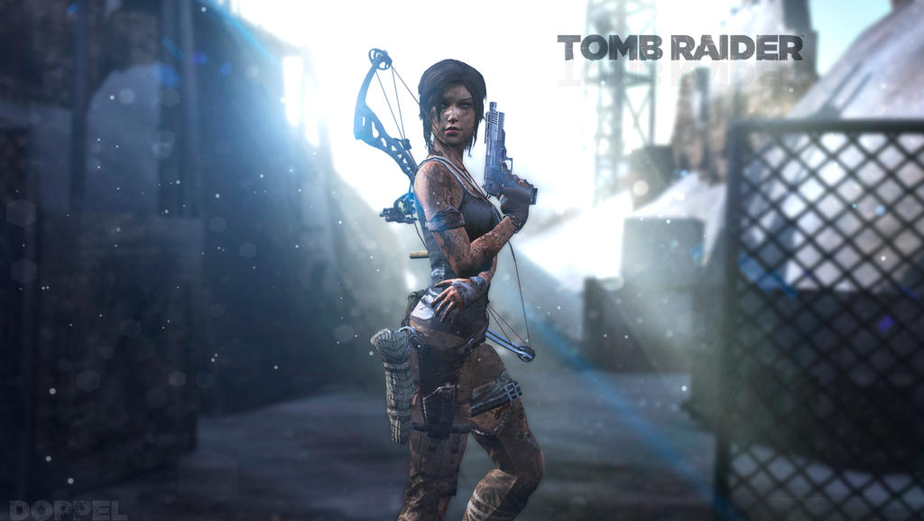 rebooted wallpapers  Tomb Raider 2 by doppeL-zgzTomb Raider 2 Wallpaper