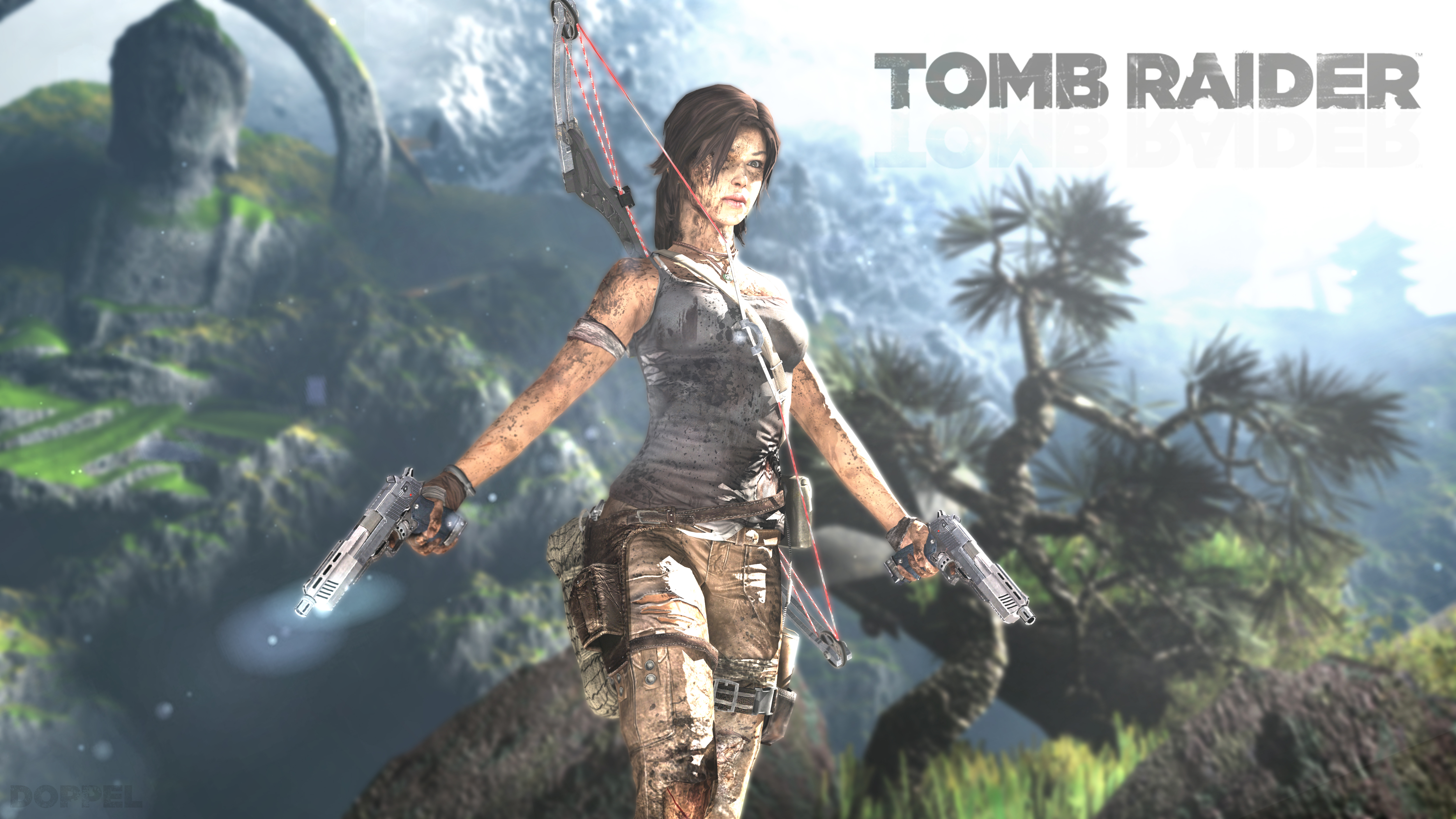Rebooted Wallpapers Tomb Raider 1 By Doppel Zgz On Deviantart