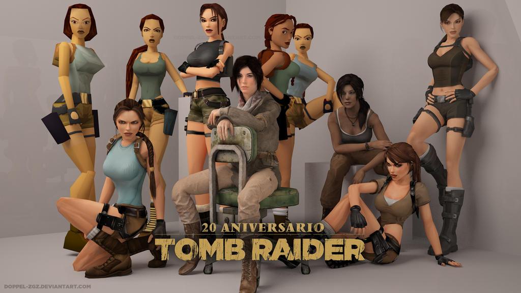 Tomb Raider 20 anniversary by doppeL-zgz