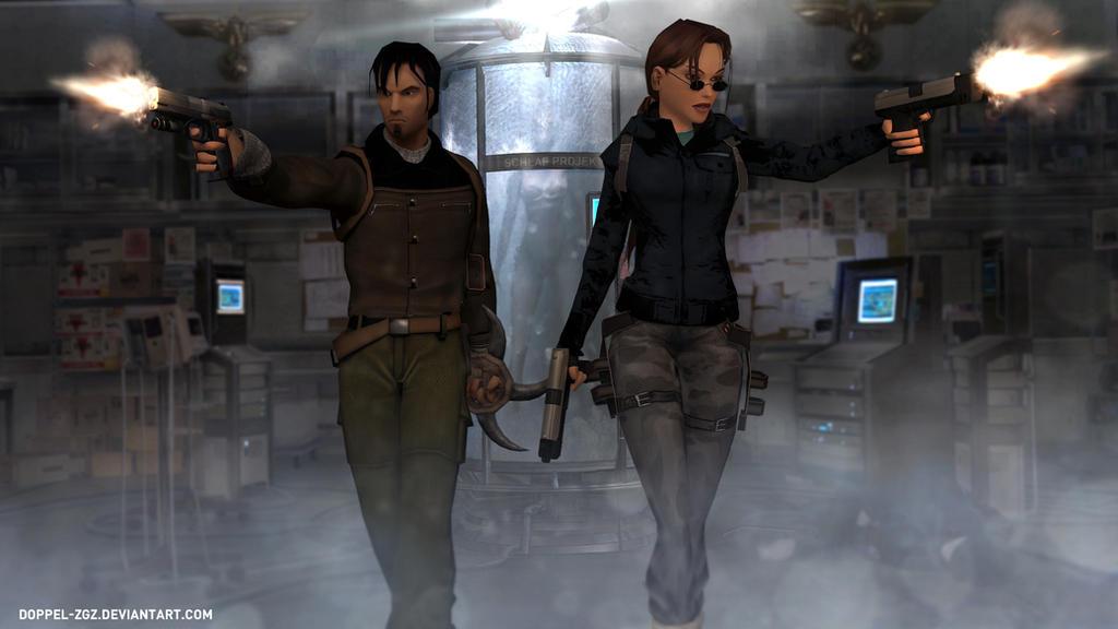 Tomb Raider: The Lost Dominion - Antartica Base by doppeL-zgz