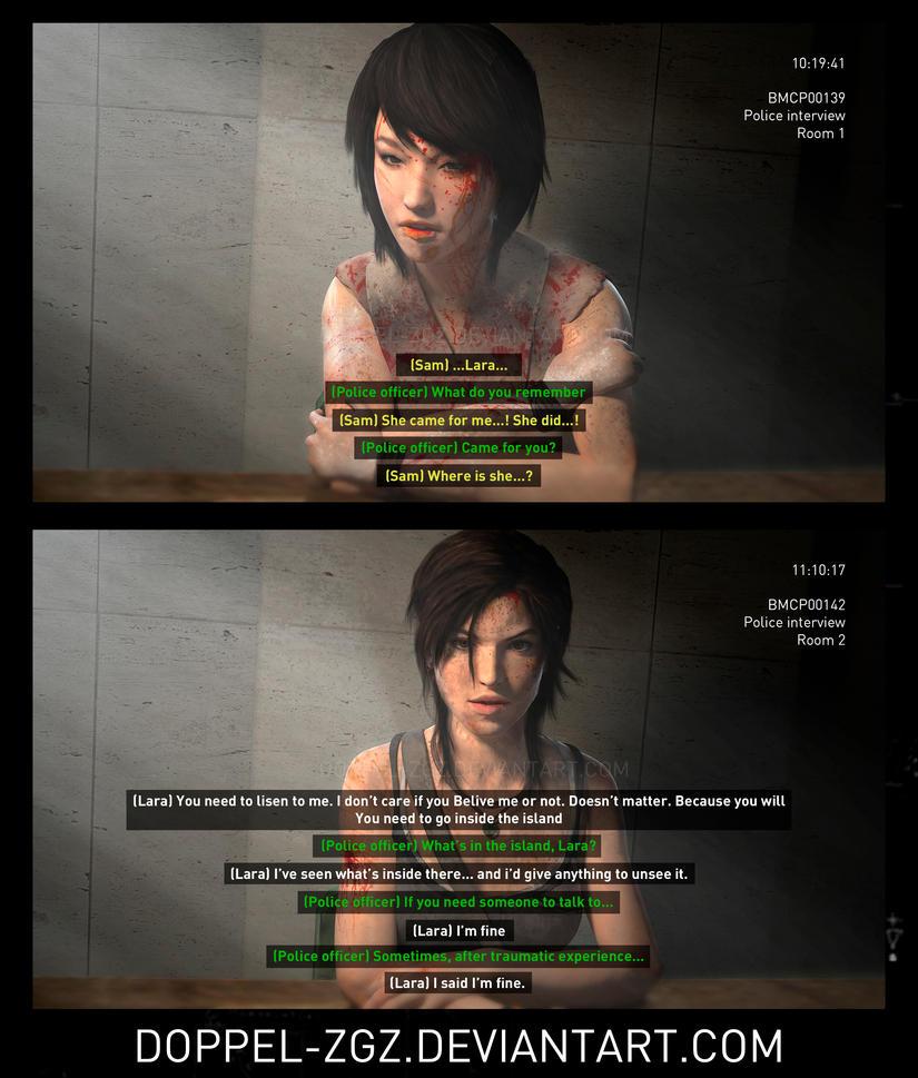 Tomb Raider (2013): Post-Credits scene by doppeL-zgz
