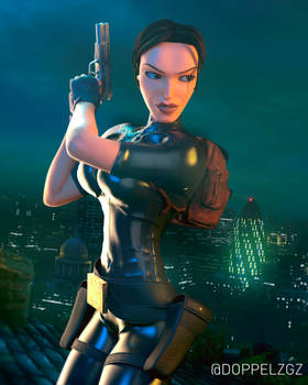 Tomb Raider 3: London rooftops