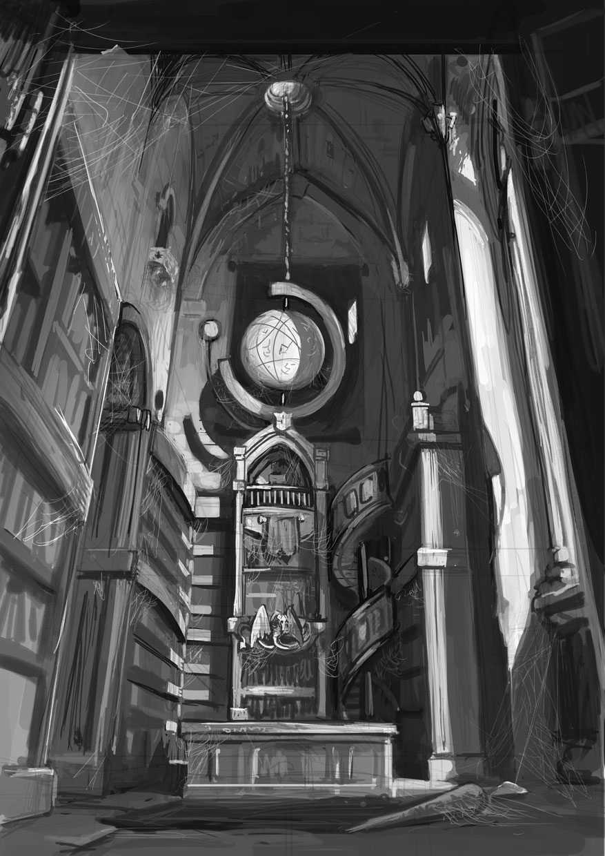 Esoteric Wallpaper: Esoteric Library By Flohock On DeviantArt