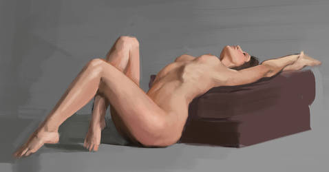 Color Nude Study