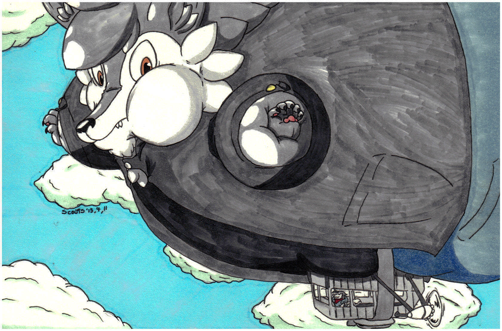 Drew You Like One Of Those French Blimps by Scoots-Buragi