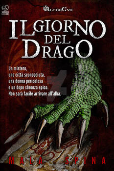 Il giorno del drago book cover design